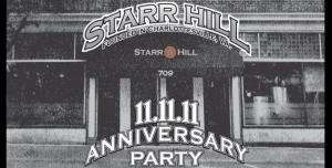 starr hill 11.11.11
