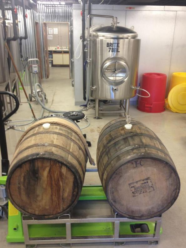 Charlottesville - Champion Brewery brew room
