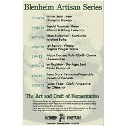 blenheim artisan series