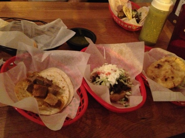 El Tepeyac sopa taco and gordita