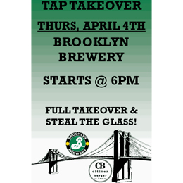 brooklyn tap takeover