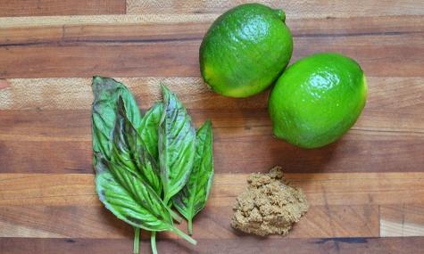 basil lime brown sugar kombucha ingredients © Cville Niche