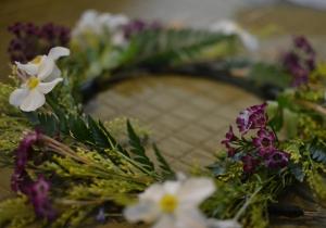 kats wreath © Cville Niche