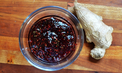 raspberry jam and ginger root © Cville Niche