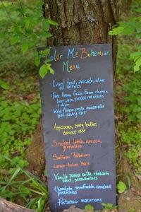 © Cville Niche, forage menu