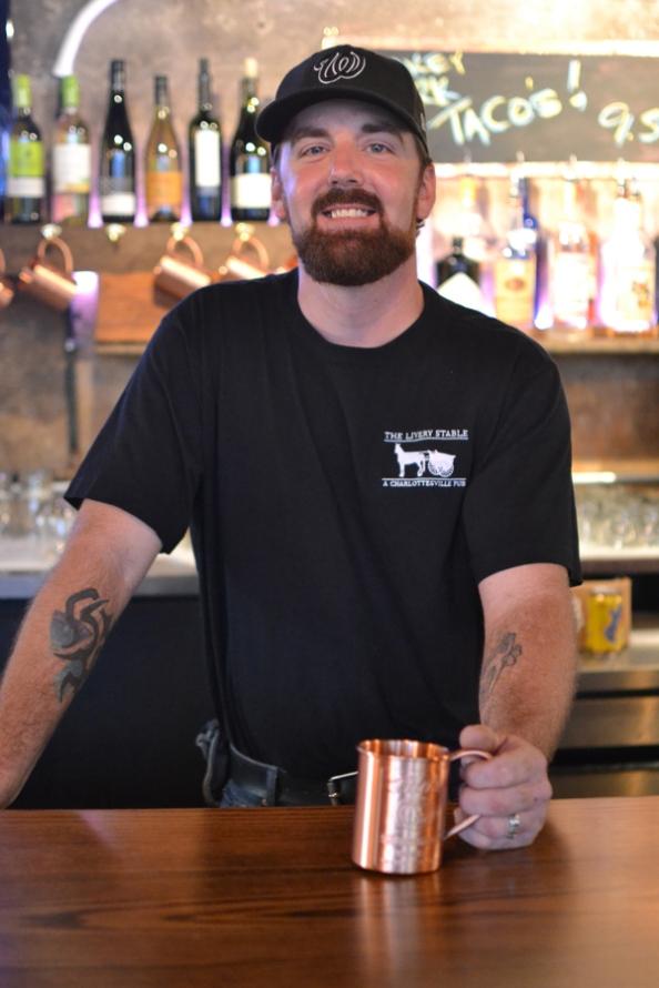 bartender, © Cville Niche