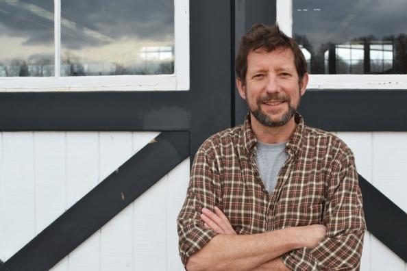 Geoff Robinson, assistant cider maker
