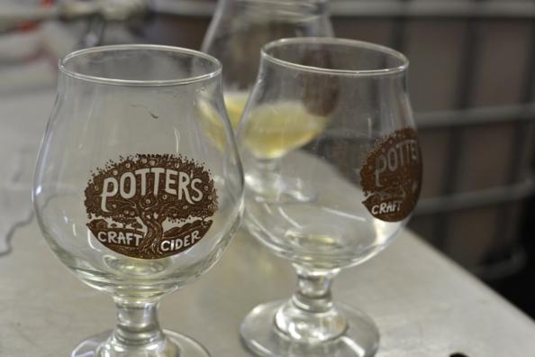 potter's cups, © Cville Niche