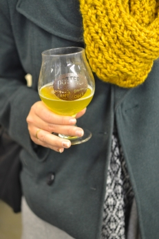 sippin on cider, © Cville Niche