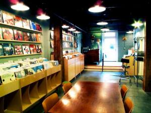 A peek inside the shop.