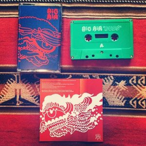 "WarHen Records released ""Buds"" as a cassette with artwork by Thomas St. Clair Dean."