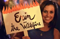 Fan, Allie Belgiovine, cheers for Erin & the Wildfire | Photo by Shannon Gillen