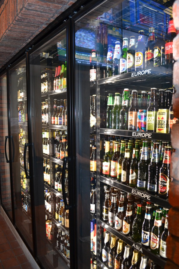 World of Beer features 57 rotating taps and two large coolers full of beers from all over the world.