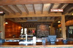 The tasting room at Bold Rock's cider barn