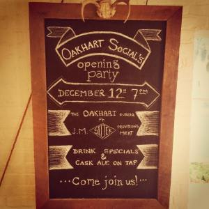 Come celebrate with drinks and a limited edition burger! December 12th, 511 W Main St!