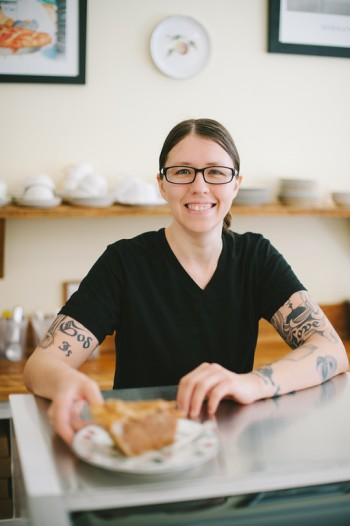 Rachel Pennington, Pie Chest baker and co-owner